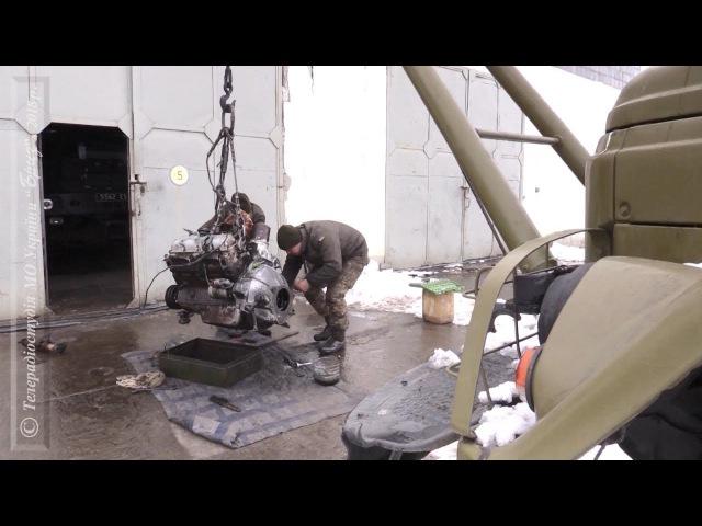 Відновлення техніки в 28 ОМБР