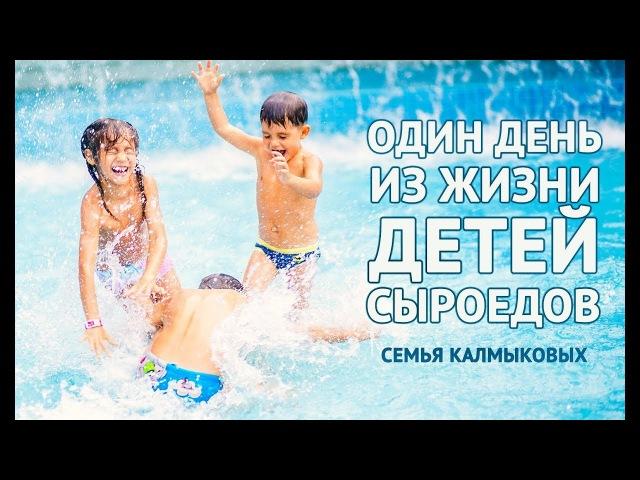 Один день из жизни детей сыроедов Развитие детей на сыроедении Семья Калмыковых