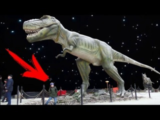 Выставка ЖИВЫЕ ДИНОЗАВРЫ Харьков Арт Завод Механика / Dinosaur Science Children's Museum for kids