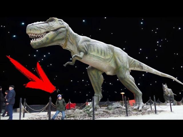 Выставка ЖИВЫЕ ДИНОЗАВРЫ Харьков Арт Завод Механика Dinosaur Science Childrens Museum for kids