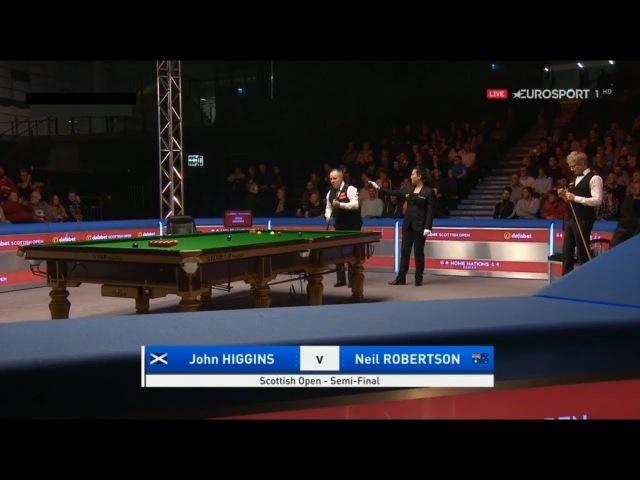 John Higgins v Neil Robertson SF Scottish Open 2017