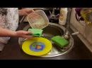 Моем посуду без химии! Салфетка AQUAMAGIC от компании GREENWAY