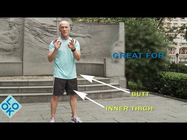 Butt Exercises - LookFit: 5-Minute Quickies with David Kirsch