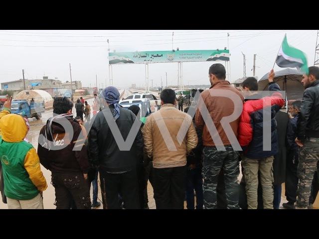 محتجون يمنعون وفد الائتلاف من الوصول لمدي16