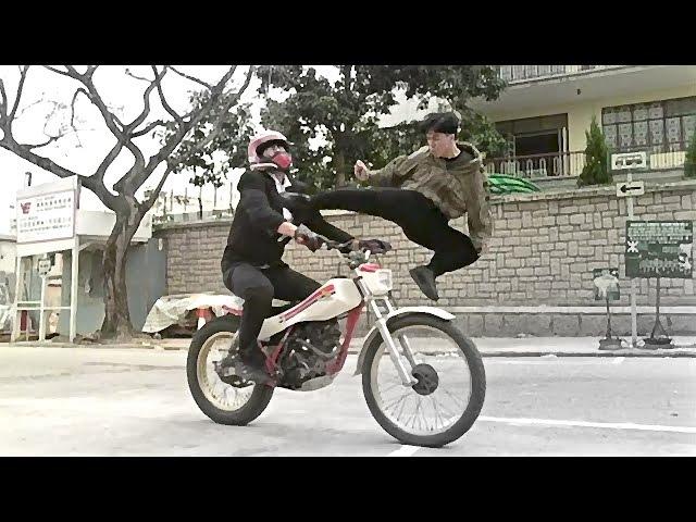 Донни Ен против мотоциклистов | Donny Yan vs motorcyclists