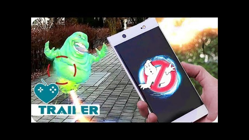 Ghostbusters World Trailer Gameplay (2018) iOS, Android Augmented Reality Game
