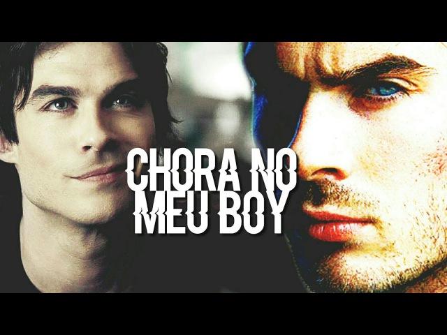 Damon salvatore | chora no meu boy
