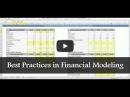 Financial Modeling: Best Practices in Financial Modeling | The Financial Modelers