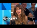 Sofia Vergara on the Modern Family casts adventures in Lake Tahoe