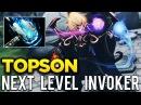 TOPSON WTF New Meta Invoker Build with Meteor Hammer in Pro Dota 2