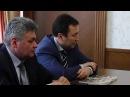 Встреча генерального секретаря КФФ и ректора ЕНУ имени Л Гумилева