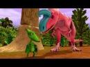 🚂 Поезд 🚋 Динозавров мультик про динозавров 1 сезон 19 без остановки на русском языке