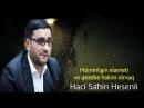 Hacı Şahin - Möminliyin əlaməti və qəzəbə hakim olmaq