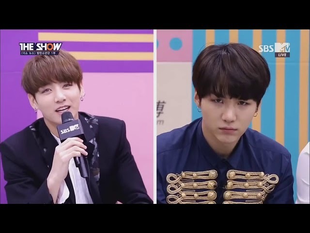 [Озвучка by Cara Linne] 161025 The Show News BTS 1 part