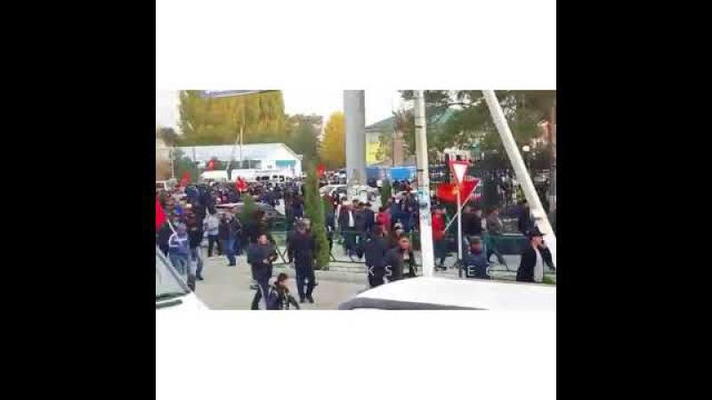 Митин В Таласе Митинг Таласта Башталды жоо журуш
