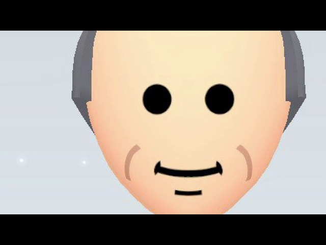 Mii channel but all the pauses are uncomfortably long