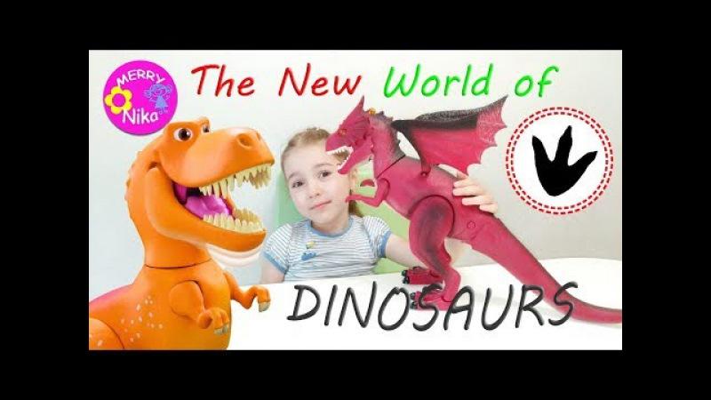 ДИНОЗАВР Интерактивный Игрушка Динозавр Видео для детей | INTERACTIVE Dinosaur Toy