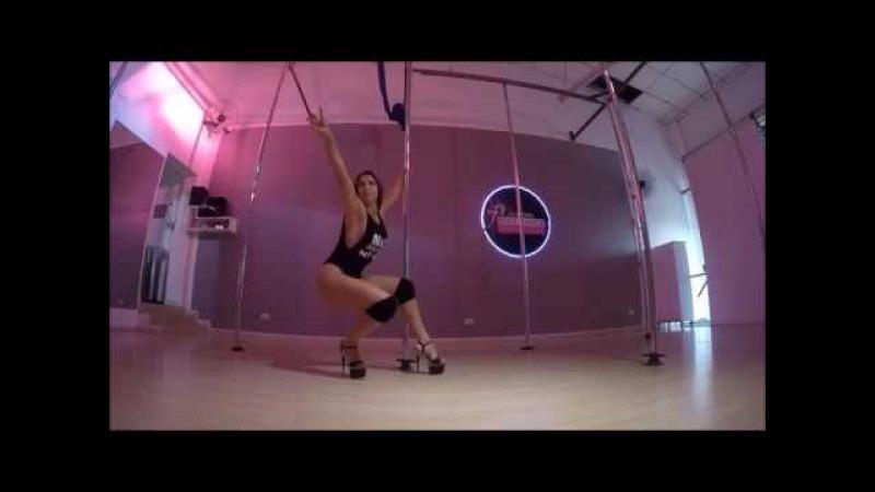 Exotic pole dance Cristina Longhi