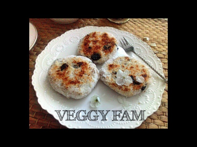 Веганские сырники из перловки