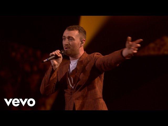 Sam Smith - Too Good At Goodbyes (Live at BRIT Awards 2018)