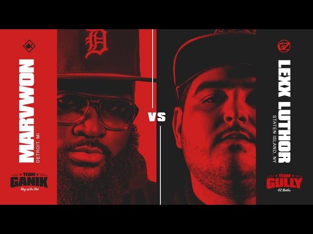 KOTD Rap Battle Marv Won vs Lexx Luthor GvG