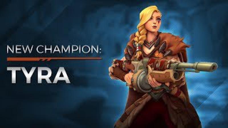 Nova Gameplay de Paladins o massacre de Tyra com a participação de Power Games