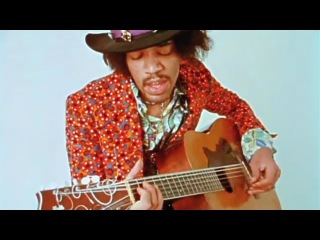 Jimi Hendrix On An Acoustic Guitar(Only known 2 videos RARE)