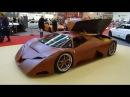 Splinter wooden supercar Essen Motor Show 2015