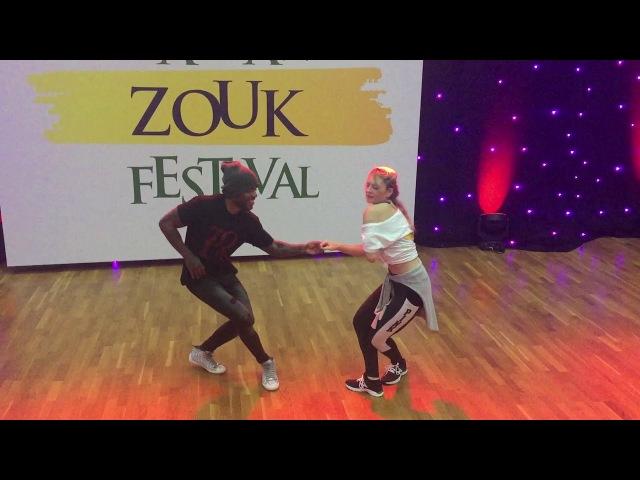 William Dos Santos Joanna Zwierzyńska Warsaw Zouk Festival 2018