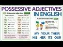 Possessive Adjectives in English - Grammar Lesson