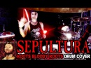 SEPULTURA ROOTS BLOODY ROOTS DRUM COVER by FRANKY COSTANZA