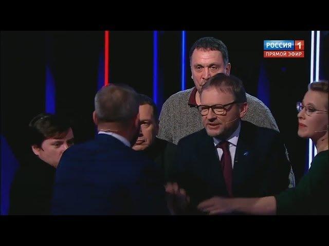 Последние СКАНДАЛЬНЫЕ ДЕБАТЫ у Соловьева 15.03.2018