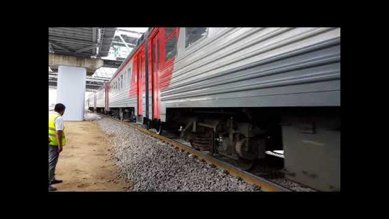 ЭТ2М-139 Прибывает на Станцию Андроновка