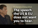 What a powerful speech! Duterte on the way to becoming an global 'anti-hypocrisy' icon ~Share this!