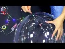 Floating Light Up LED Bubble Balloons With Multi-Color Firefly String Lights Wedding Party Favor