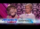 Darci Lynne: Young Ventriloquist Performs Diva Classic - America's Got Talent 2017
