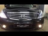 Nissan Teana улучшение и тонинг свет фар