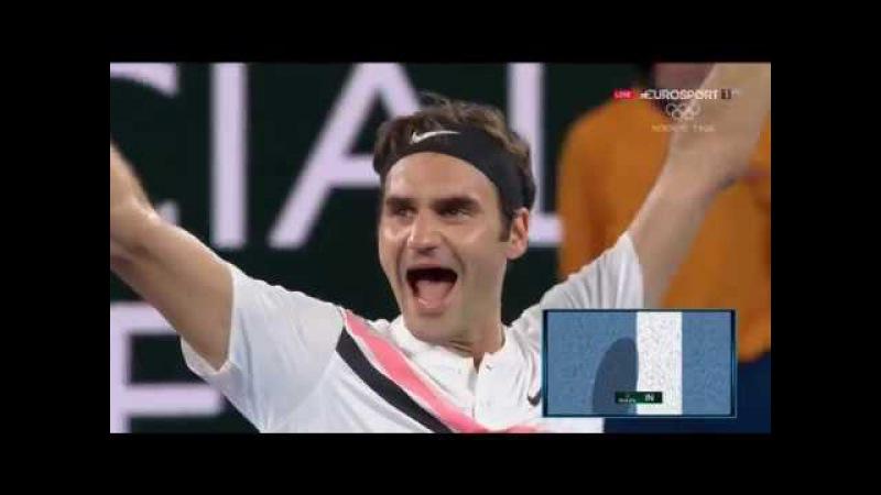 Roger Federer v Marin Cilic 2018 F ( h i g h l i g h t s )