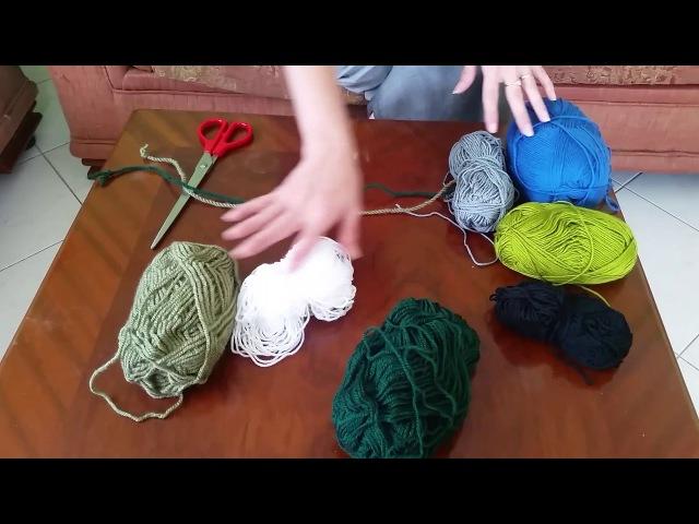 Плетение ply-split. 1 урок. Делаем корд