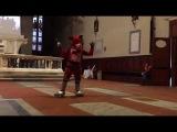 Lucca Comics Cosplay Contest Foxy performance  Gaia Spaziani