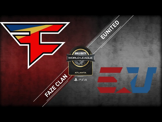 Faze Clan vs eUnited CWL Atlanta Open 2018 Alpha Stream Day 1