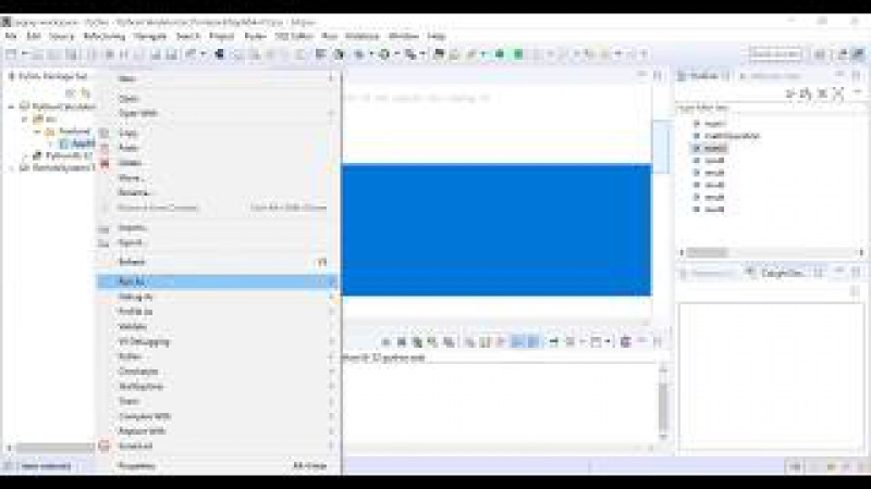 IPGRAY Python Part 1 How to create a python project using pydev plugin in eclipse