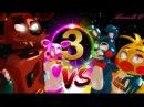 FOXY Y MANGLE VS TOY BONNIE E CHIKA PART 3 《FINAL》