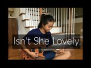 Isn't She Lovely by Stevie Wonder | Fingerstyle Guitar Cover by Lanvy