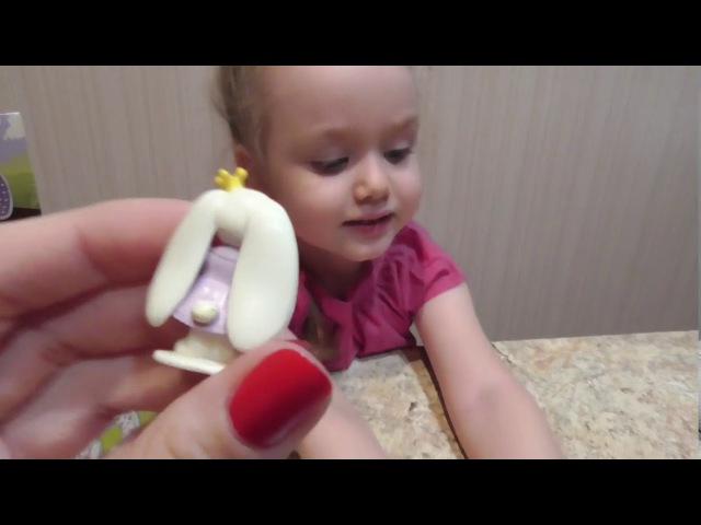 Открываем шоколадные шары Чупа Чупс и яйца с игрушкой, забавные сюрпризы для дев...