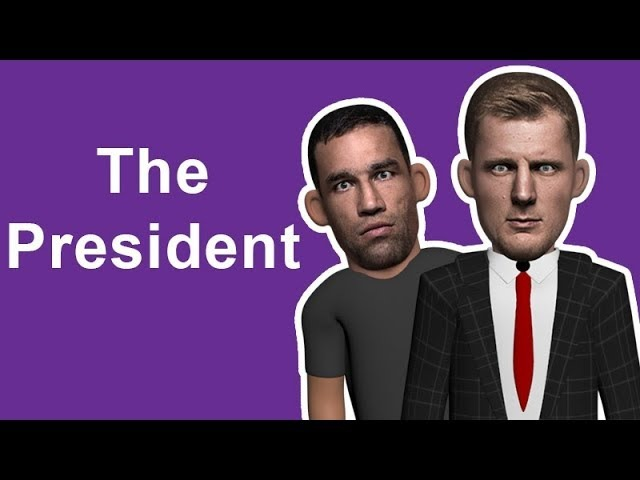 UFC London - The President Has Arrived