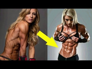 STRONG and FLEXIBLE FITNESS GIRL - Amazing fitness moments