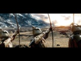 The Hobbit (2013) - Battle of the five Armies - Part 1 - Only Action 4K (Directors Cut)