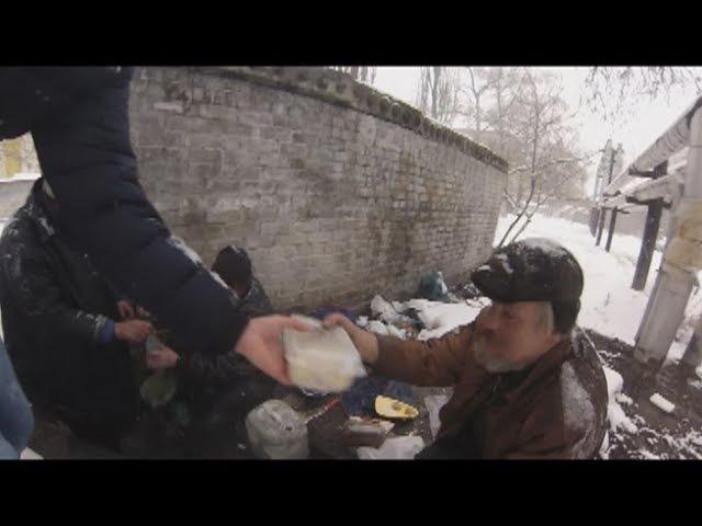 Накормили бездомных домашней едой, Новый персонаж СИФОН!