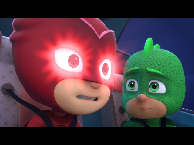 PJ Masks Full Episodes 1 2 Blame it on the Train Owlette Catboy's Cloudy Crisis Cartoons 75